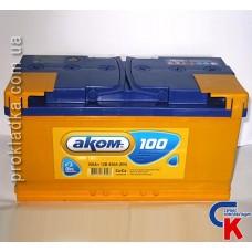 Аккумулятор Akom (Аком) 6СТ - 100 Евро