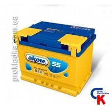 Аккумулятор Akom (Аком) 6СТ - 55 Евро