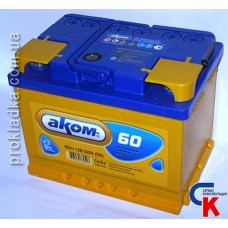 Аккумулятор Akom (Аком) 6СТ - 60 Евро