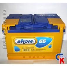 Аккумулятор Akom (Аком) 6СТ - 66 Евро