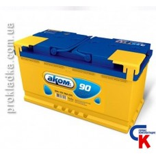 Аккумулятор Akom (Аком) 6СТ - 90 Евро