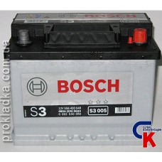 Аккумулятор Bosch (Бош) 6СТ - 56 Евро