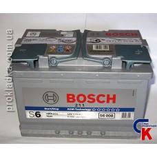 Аккумулятор Bosch (Бош) AGM 6СТ - 70 Евро