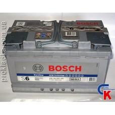 Аккумулятор Bosch (Бош) AGM 6СТ - 80 Евро