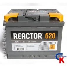 Аккумулятор Reactor (Реактор) 6СТ 62 Евро