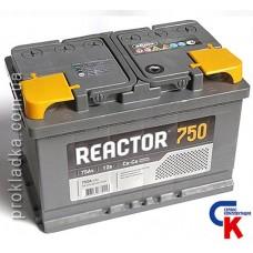 Аккумулятор Reactor (Реактор) 6СТ - 75