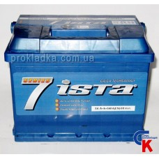 Аккумулятор ИСТА 7 (ISTA 7 Series) 6СТ - 56 A2 Евро