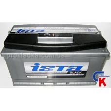 Аккумулятор ИСТА Блэк (ISTA Black) 6СТ - 100 A1