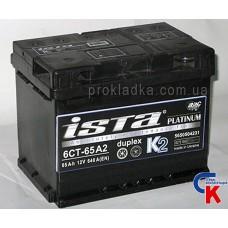 Аккумулятор ИСТА Платинум (ISTA Platinum) 6СТ - 62 A2 Евро
