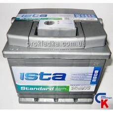 Аккумулятор ИСТА Стандарт (ISTA Standard) 6СТ - 50 A1 Евро