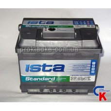 Аккумулятор ИСТА Стандарт (ISTA Standard) 6СТ - 63 A1 Евро