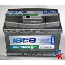 Аккумулятор ИСТА Стандарт (ISTA Standard) 6СТ - 66 A1 Евро