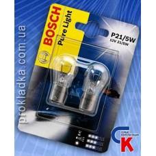 Автомобильная лампа Bosch - лампа 12V 21/5W P21/5W