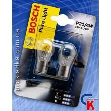Автомобильная лампа Bosch - лампа 12V 21/4W P21/4W