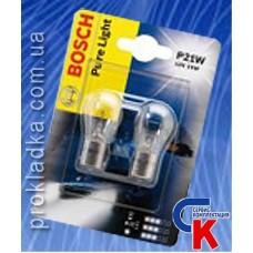 Автомобильная лампа Bosch - лампа 12V 21W P21W
