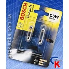 Автомобильная лампа Bosch - лампа 12V 5W C5W