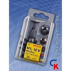 Автомобильные лампы Bosch Minibox H1 (комплект)