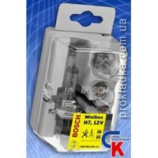 Автомобильные лампы Bosch Minibox H7 (комплект)