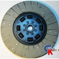 Диск сцепления ведомый МТЗ-1221 (резина) безасбестовый материал