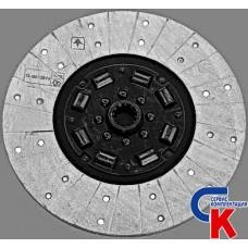Диск сцепления ведомый МТЗ-1221 (пружина) безасбестовый материал