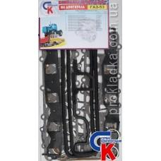 Комплект прокладок двигателя ГАЗ-53  ECONOM (17 наименований)