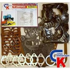 Комплект прокладок двигателя КамАЗ ECONOM (33 наименований)