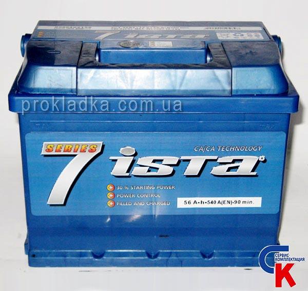 Ista 7 аккумулятор инструкция